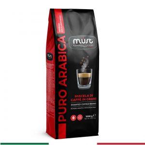 puro arabica çekirdek kahve
