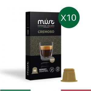 10'lu Cremoso Nespresso