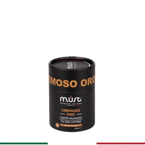Cremoso Oro - 250 gr Filtre Kahve
