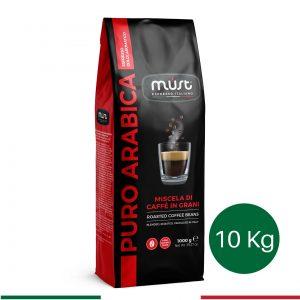 10 kg Puro Arabica Çekirdek Kahve