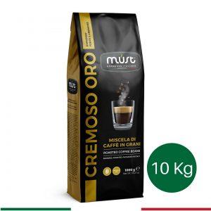 10 kg Cremoso Oro Çekirdek Kahve